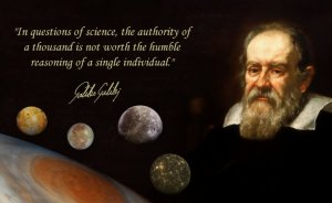 galileo-authority of one well reasoned argument