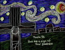 crayon art. Jesus on cross