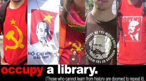 Occupy a library. Learn History